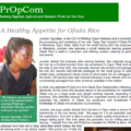 A Healthy Appetite for Ofada Rice