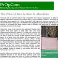 The Price of Rice is Nice in Abeokuta