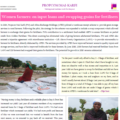 Women farmers: on input loans and swapping grains for fertilizers